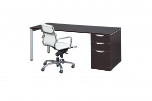 Elements Modern Modular Strait Desk Loveland CO