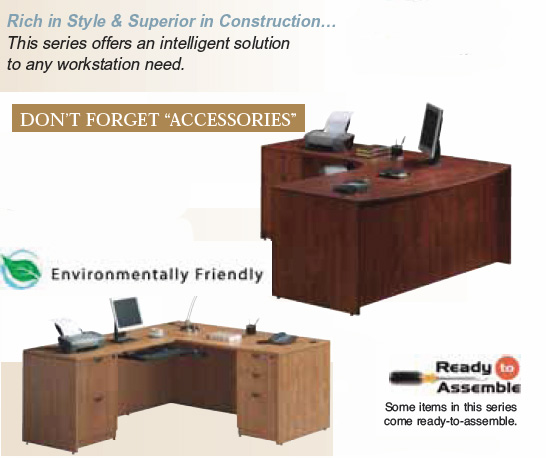 Office Source L Shape Excutive Desk Loveland Fort