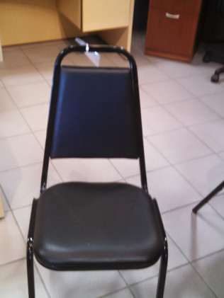 Black Stacking Restaurant Chair Loveland CO