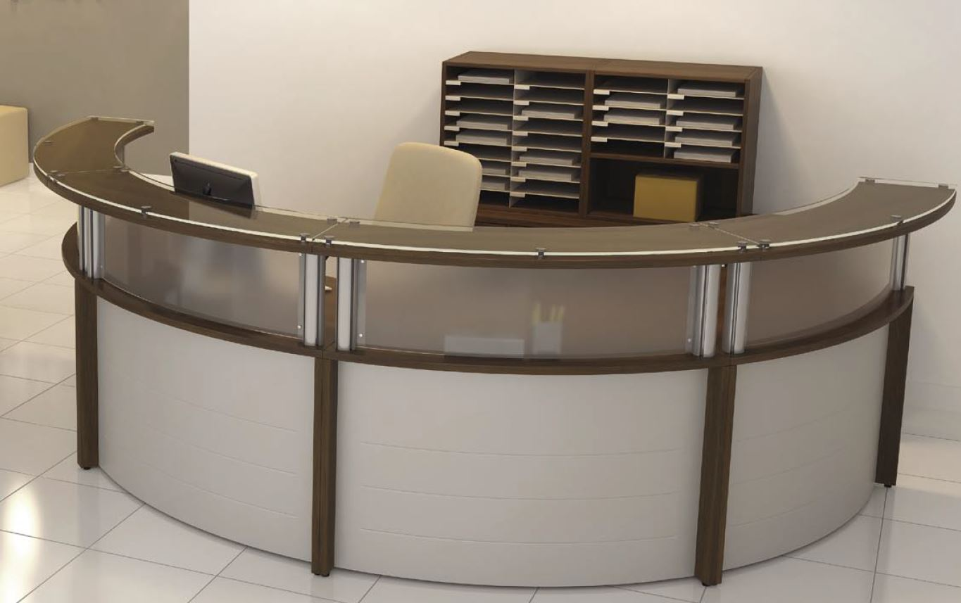 reception desks loveland colorado new used office. Black Bedroom Furniture Sets. Home Design Ideas