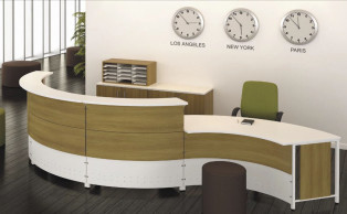 Artopex Wave Reception Desk