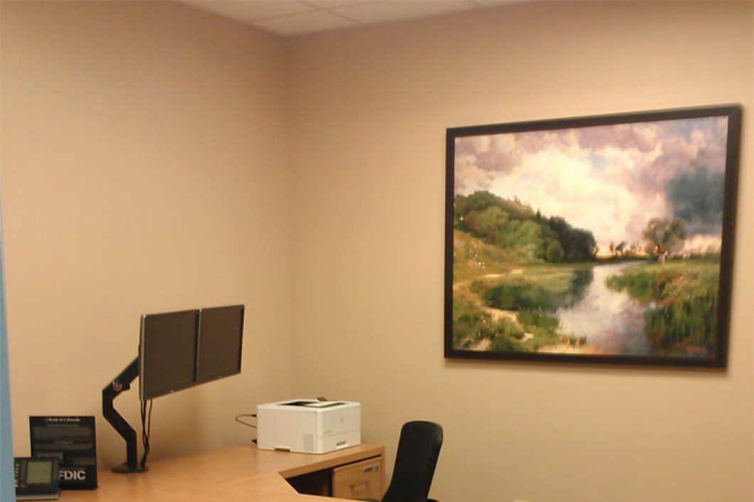 Bank of Colorado Longmont: Artopex Furniture and Custom Artwork